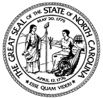 State Seal of North Carolina NC DMV